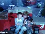 Андрей Григорьев-Апполонов с детьми