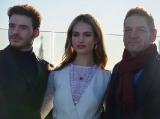 Ричард Мэдден (Richard Madden), Лили Джеймс (Lily James), Кеннет Брана (Kenneth Branagh)