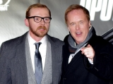 Simon Pegg and Brad Bird