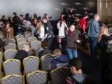 Пресс-конференция фильма «Живая сталь»