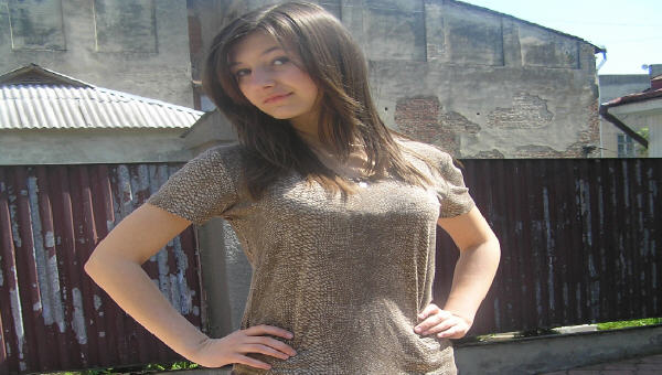 Участница конкурса «Мисс Танки Онлайн»
