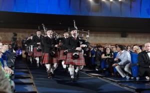 Оркестр на Церемонии Закрытия 33-го ММКФ