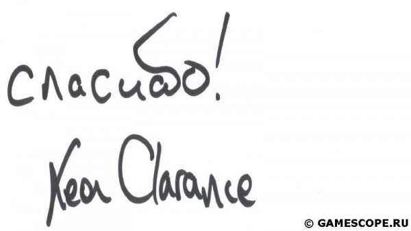 Leon Clarance's Autograph (Octopus Investments)