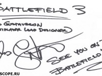 Lars Gustavsson's Autograph (EA DICE)