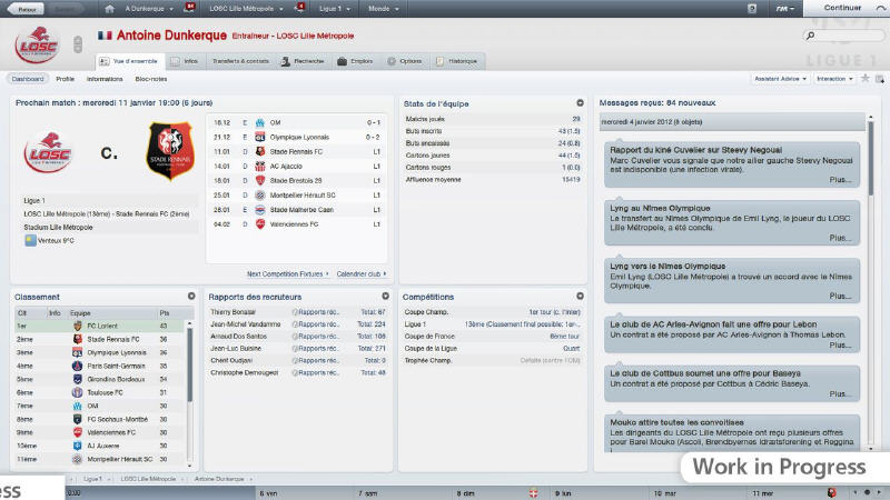 FootballManager2012_screen1 21 октября выйдет Football Manager 2012.
