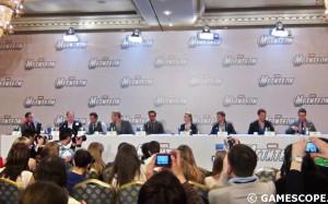 Пресс-конференция фильма Мстители в Москве