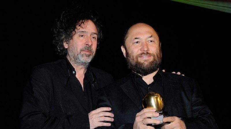 Тим Бертон и Тимур Бекмамбетов в Москве