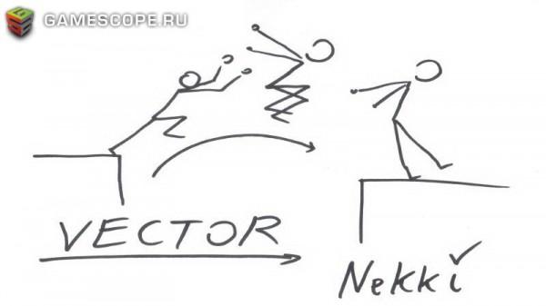 Автограф Евгения Дябина (Nekki)