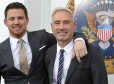 Channing Tatum, Roland Emmerich (White House Down)