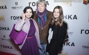 Екатерина Стриженова, Александр Стриженов, Александра Стриженова