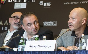Сергей Мелькумов, Александр Роднянский, Федор Бондарчук (Сталинград)