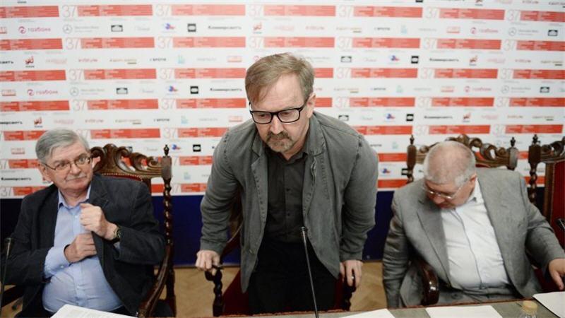 Григорий Либергал, Петр Шепотинник, Кирилл Разлогов (37 ММКФ)