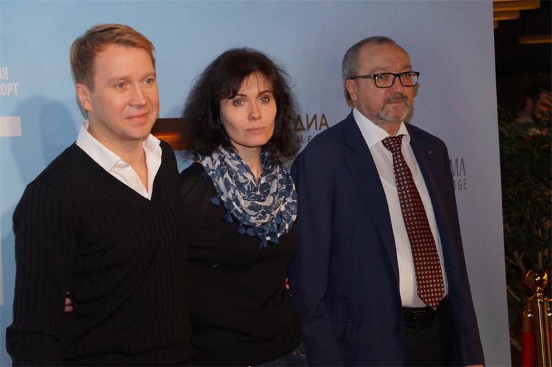 Евгений Миронов, Алена Званцова, Рубен Дишдишян (Норвег)