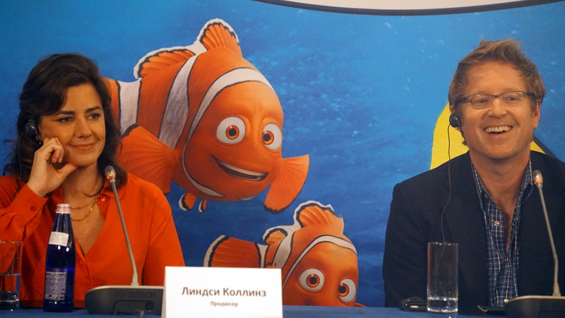 В поисках Дори (Пресс-конференция в Москве)